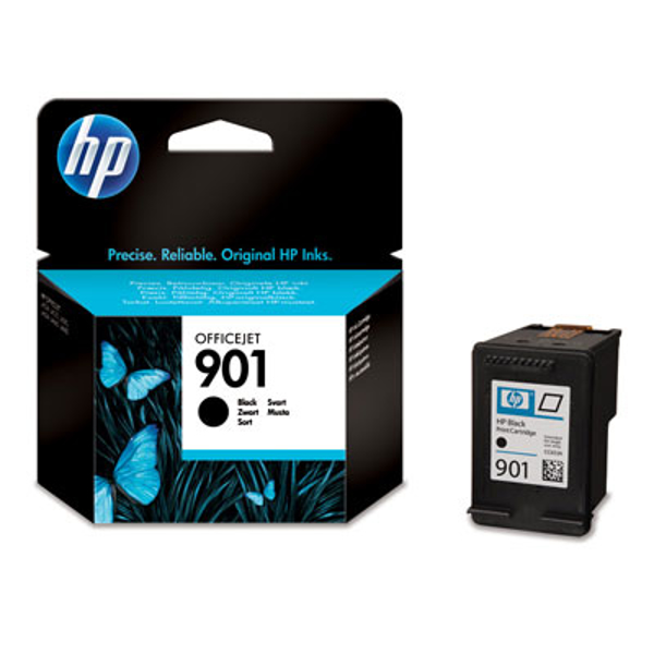 Picture of Original HP 901 Officejet Ink Cartridges (CC653AE) Black
