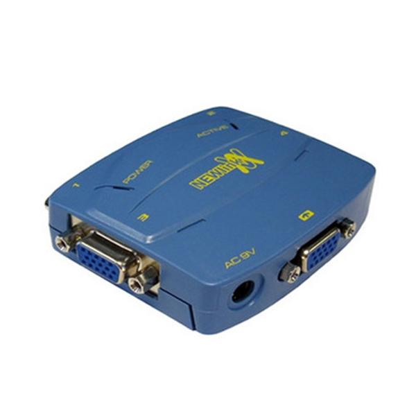 Picture of 4 Port VGA Splitter 350 MHz Bandwidth