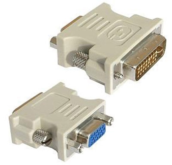 Picture of DVI Male to VGA Female adaptor