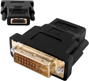 Picture of DVI Male - HDMI Female Adaptor