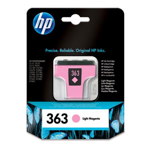 Picture of Original  HP 363 Light Magenta Ink Cartridge