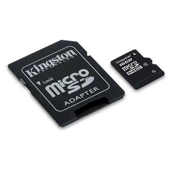 Picture of Kingston MicroSD SDC10G2/16GB Class 10