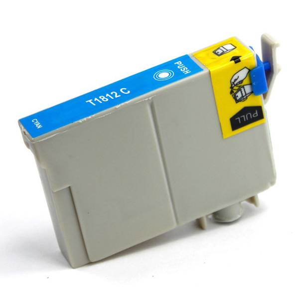 Picture of Non-OEM Compatible T1812 18XL Epson Cyan High Capacity Ink Cartridge