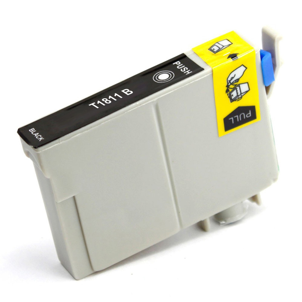 Picture of Non-OEM Compatible T1811 18XL Epson Black High Capacity Ink Cartridge