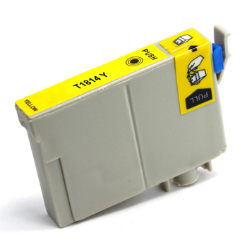 Picture of Non-OEM Compatible T1814 18XL Epson Yellow High Capacity Ink Cartridge