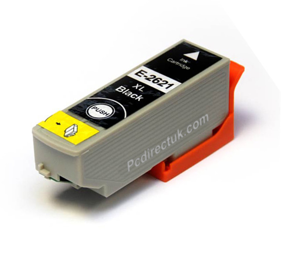 Picture of Non-OEM Compatible Epson T2621 Epson 26 XL Black  Ink Cartridge