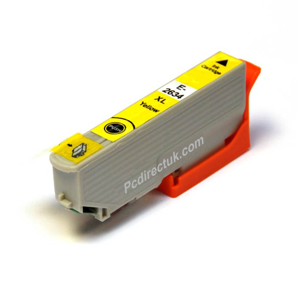 Picture of Non-OEM Compatible Epson T2634 Epson 26 XL Yellow Compatible Ink Cartridge