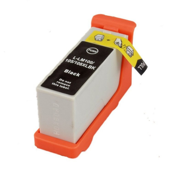 Picture of Non-Oem Lexmark 100XL Black Ink Cartridge High Capacity