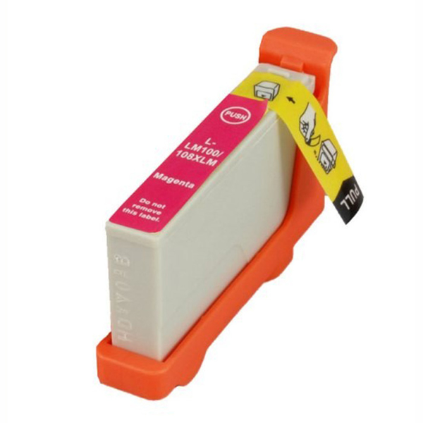 Picture of Non-OEM Lexmark 100XL Magenta Ink Cartridge High Capacity