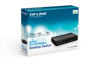 Picture of Tp Link 16 Port Desktop Switch TL-SF1016D