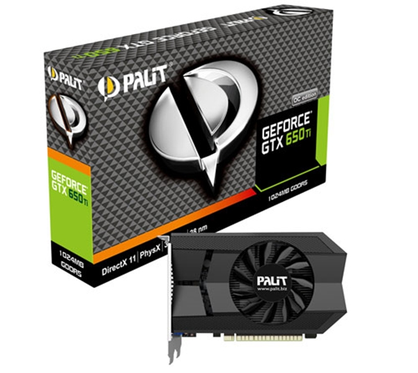 Picture of Palit NVIDIA GeForce GTX 650 Ti 2GB Graphics Card