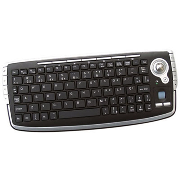 Picture of Media Centre Mini Wireless Keyboard with built-in track ball