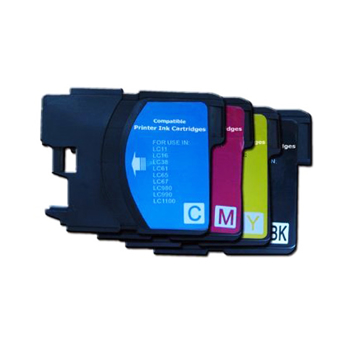 Picture of Non-OEM Compatible Brother DCP145C DCP165C - LC61 LC980 LC65 LC1100 Combo