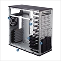 Picture of Compucase 6XR9 Xtreme Gaming Midi Tower Case Black