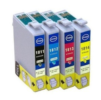 Picture of Non-OEM Compatible 18XL Epson Combo High Capacity Ink Cartridge T1816