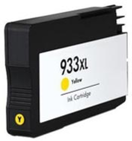 Picture of NON-OEM HP Ink Cartridge Officejet 933XL Yellow