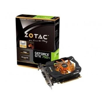 Picture of ZOTAC GeForce GTX 750 Ti (1GB) Graphics Card PCi-E (2x DVI) Mini HDMI (VGA Adaptor)