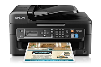 Picture of Epson WorkForce WF-2630WF Wireless All-in-One Inkjet Printer, Print Copy Scan Fax, ADF
