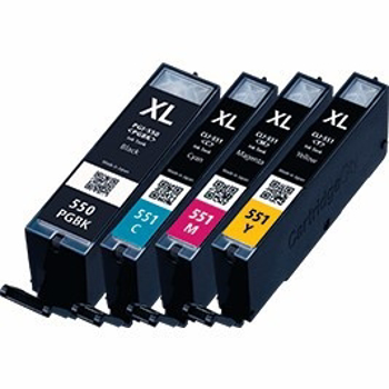 Picture of Non OEM Canon PGI 550 / CLI 551 SET Compatible Ink Cartridge