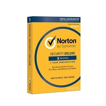 Picture of Norton Security Deluxe (3.0) 1 User (5 Devices) 12 Months Security Software