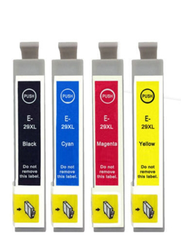 Picture of Non-OEM Epson 29XL Strawberry Series Multipack T2991 - T2994 Compatible Printer Ink Cartridges
