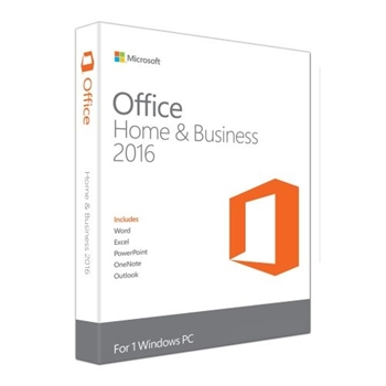 Picture of Microsoft Office Home & Business 2016 32bit x64 - Medialess