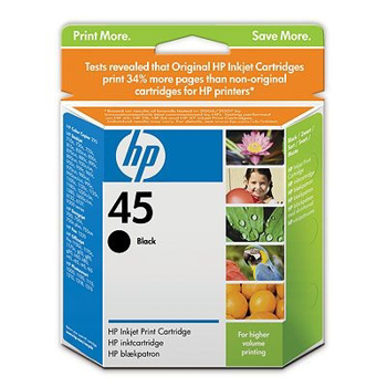 Picture of Original HP 45 Ink cartridge - 1-pack Black