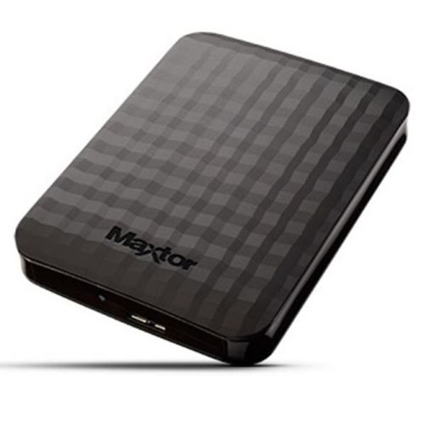 "Picture of Maxtor M3 Portable 500GB External Hard Drive, 2.5"", USB 3.0, Black"