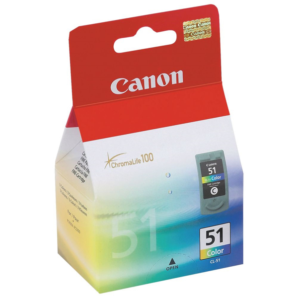 Picture of Original Canon CL-51 Color Ink Cartridge
