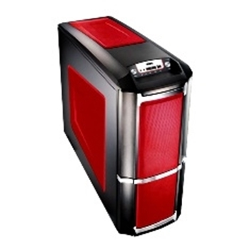 Picture of Compucase 6XR9 Xtreme Gaming Midi Tower Case Red