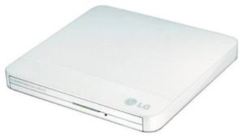 Picture of HL Data Storage GP50NW41 8 x Super-Multi USB 2.0 Portable DVD-RW Drive - White
