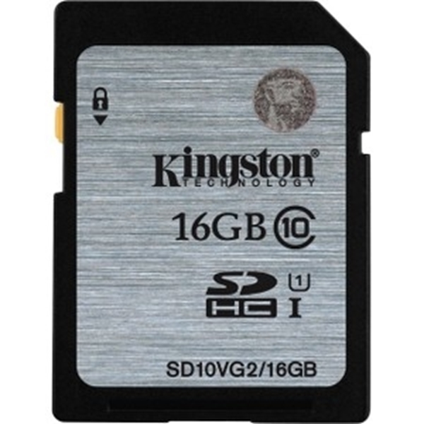 Picture of Kingston 16GB Class 10 UHS-I SDHC Memory Card
