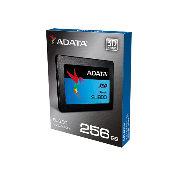 Picture of Adata 256GB SU800 Solid State Drive Read Write Speeds 560MBs 520MBs 3D Nand Flash