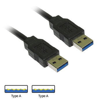 USB 3.0 A Male to A Male Cable 1m