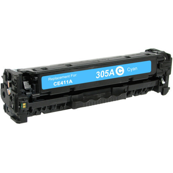 HP 305A Cyan Toner Cartridge (CE411A) Compatible
