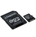 Kingston 256GB Canvas Select Micro SDXC Card with SD Adapter, Class 10