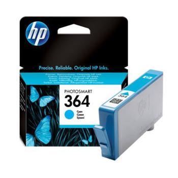 Picture of Original HP 364 Cyan Ink Cartridge