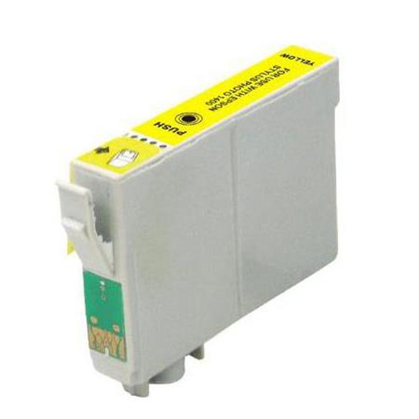 Compatible Epson T0804 Yellow Ink cartridge