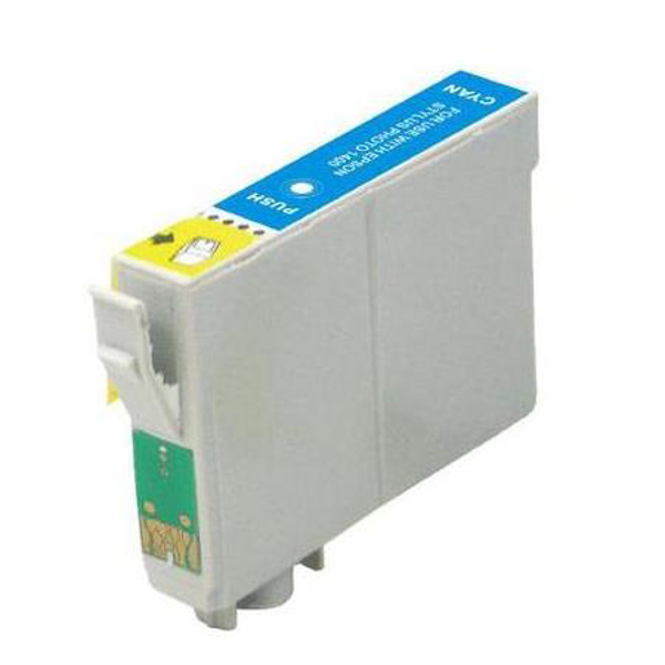 Compatible Epson T0712 Cyan Ink cartridge