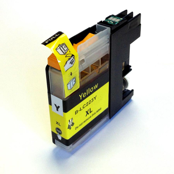 Compatible Brother LC223 XL Yellow Ink