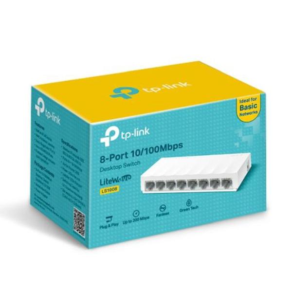 TP-Link LS1008 8-Port 10/100Mbps