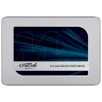 Picture of Crucial MX500 CT500MX500SSD1(Z) 500 GB (3D NAND, SATA, 2.5 Inch, Internal SSD)