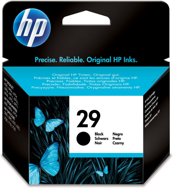 HP 29 Black Original Ink Cartridge HP-51629AE