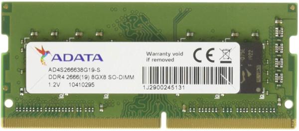 Adata 8GB Premier DDR4 2666 PC4 21300 260-Pin SO-DIMM Memory