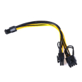 6pin PCI Express to Dual 8pin PCI-e cable